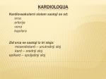 KARDIOLOGIJA - WordPress.com