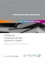 Konferencija Učiteljskoga fakulteta Sveučilišta u Zagrebu