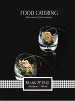 FOOD CATERING - Frank Ze Paul