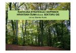 Razvojna strategija i doprinos Hrvatskih šuma d.o.o. sektoru OIE