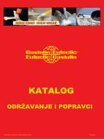 Castolin Eutectic - KATALOG - Održavanje i popravci