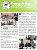 IRO UNSA E-newsletter May 2012 - JoinEU-SEE