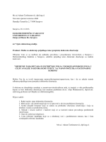 Mr.sci.Adnan Čaršimamović, dipl.ing.el. Neovisni operator sistema u