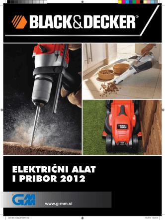Black&Decker katalog 2012
