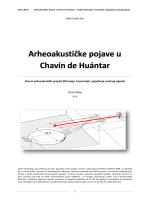 Arheoakustičke pojave u Chavín de Huántar - projekt