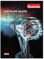 Makita - Cjenik - Katalog Alata 2013