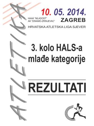 3. kolo HALS-a - mlađe kategorije