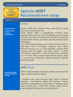 Agencija ASSET Računovodstvene usluge