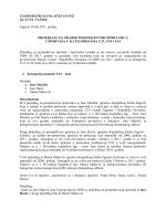Prijedlog komisije - Zagrebački kuglački savez