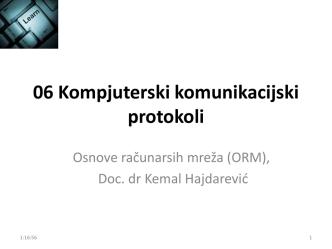 06 Kompjuterski komunikacijski protokoli
