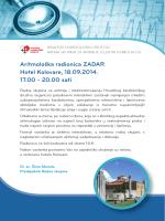 Radionica Zadar - Radna skupina za aritmije i elektrostimulaciju srca
