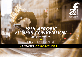 19th AEROBIC FITNESS CONVENTION
