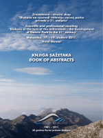 KNJIGA SAŽETAKA BOOK OF ABSTRACTS