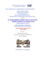 12. poslijediplomski tečaj trajnog medicinskog usavršavanja