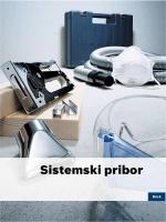 Sistemski pribor - Bosch električni alati