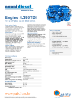 Engine 4.390 TDI