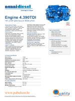Engine 4.390 TDI