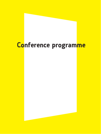 Conference programme - Croatian Sociological Association