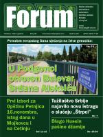 U Podgorici otvoren Bulevar Srđana Aleksića