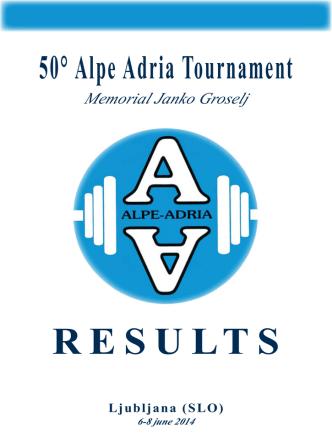 50° Alpe Adria Tournament