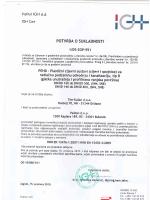Institut IGH d.d. IGH Cert POTVRDA O SUKLADNOSTI 1t05-zcP-951