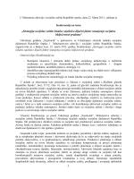 """""""Strategija socijalne zaštite lokalne zajednice"""