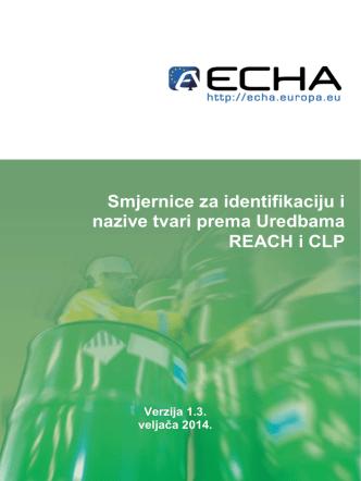 4 smjernice za identifikaciju i nazive tvari u - ECHA