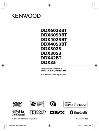 DDX6023BT DDX6053BT DDX4023BT DDX4053BT