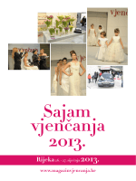 Najava sajma - Magazin Vjenčanja