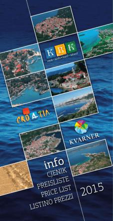 Cjenik 2015 - Turistička zajednica otoka Krka