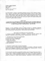 Split, 24. rujna 2014. Na temelju članka 21. Zakona o koncesijama