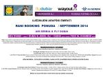 UAE – Septembar 2014