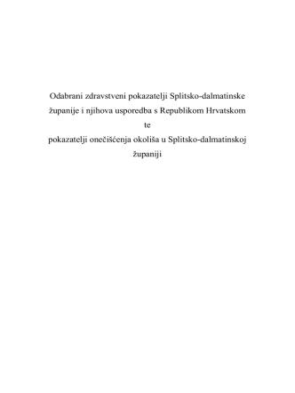 2. Kliknite ovdje i preuzmite PDF izvještaj stručnjaka o stanju u