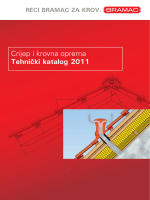Crijep i krovna oprema Tehnički katalog 2011