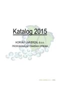 Katalog Vinarska Oprema za 2015. godinu