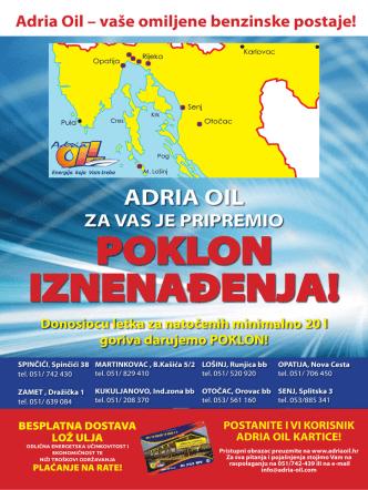 Adria Oil – vaše omiljene benzinske postaje!