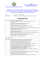 Okrugli stol Zajedničkih europskih smjernica o prijelazu s
