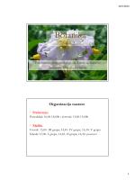 Botanika - Univerzitet Crne Gore