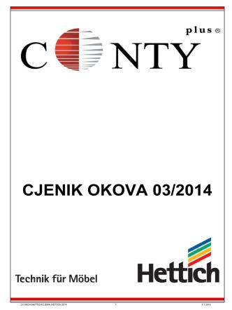 CJENIK OKOVA 03/2014