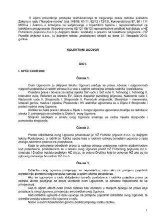 31. listopada 2013. god Novi kolektivni ugovor s - Strojovođe-hr