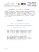 REFERENCE UNIS FAGAS D.O.O. SARAJEVO
