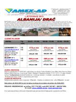 LJETOVANJE 2015 - Amex-AD Putnička Agencija | Velika Kladuša
