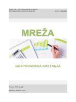 """Brošura Hrvatske gospodarske komore """"Mreža"""""""