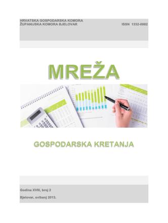 Brošura Hrvatske gospodarske komore