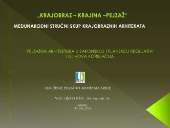 1. M. Sc. Ljiljana Tubić (UPAS)