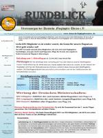 Vereinsorgan der Deutsche Flugtippler Union e.V. .