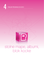 stolne mape, albumi, blok kocke