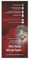 programme - Centre d`Etudes Byzantines, Néo