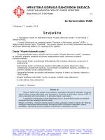 Izvješće tajnika o sudačkim zvanjima (KS)
