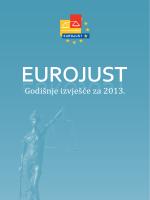 Godišnje izvješće za 2013. - Eurojust
